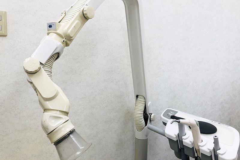 切削器具を初めとした施術器具への徹底した減菌・消毒処理